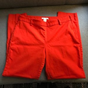 ⚡️3 for 20⚡️Bright Orange Pants size 10 H&M